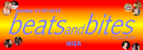 Zondag 21 juli 2013 Beats and Bites Ibizza